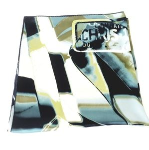 Dior Accessories - Christian Dior Large Square Hand Rolled Silk Scarf